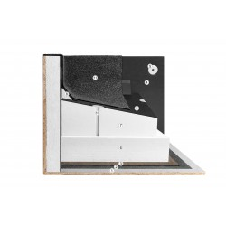 Płaski dach system Megastyro Styropian Spadkowy