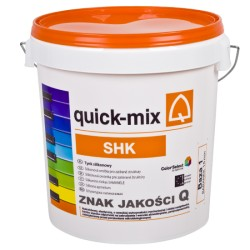 Tynk silikonowy QUICK-MIX baranek SHK ciemny 25 kg
